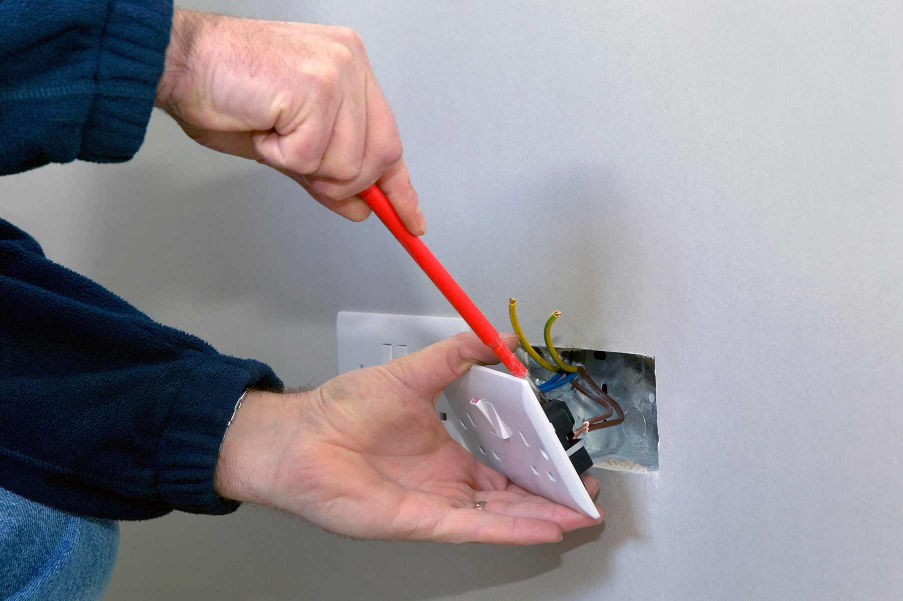 Our electricians can install plug sockets for domestic and commercial proeprties in Norwood and the local area.